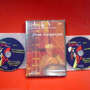 3 DVD Combo Learn the Art of Duduk Playing Set